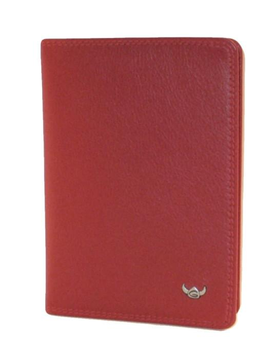 Ausweishülle Golden Head Creation Polo Nappaleder rot