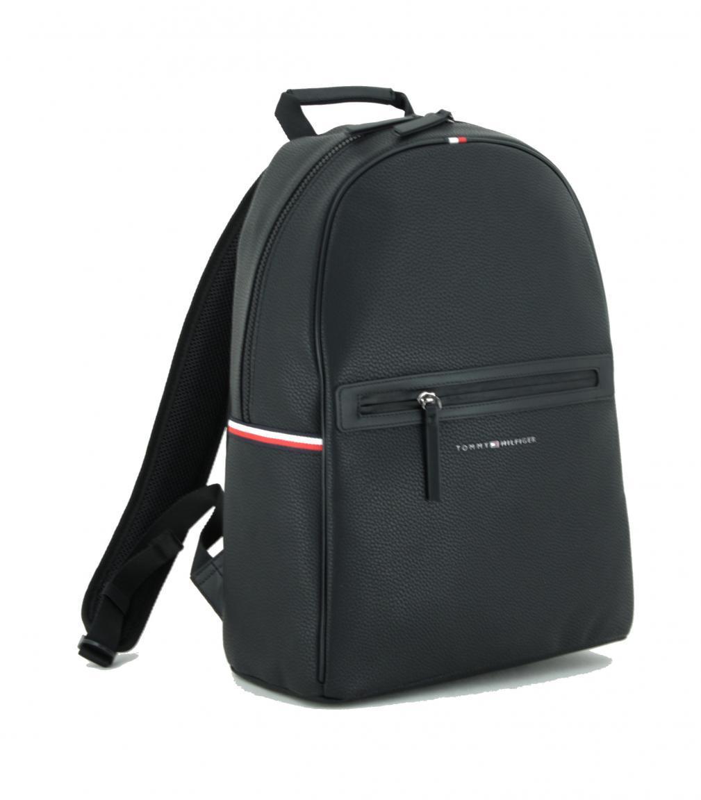 Backpack Tommy Hilfiger Essential PU schwarz