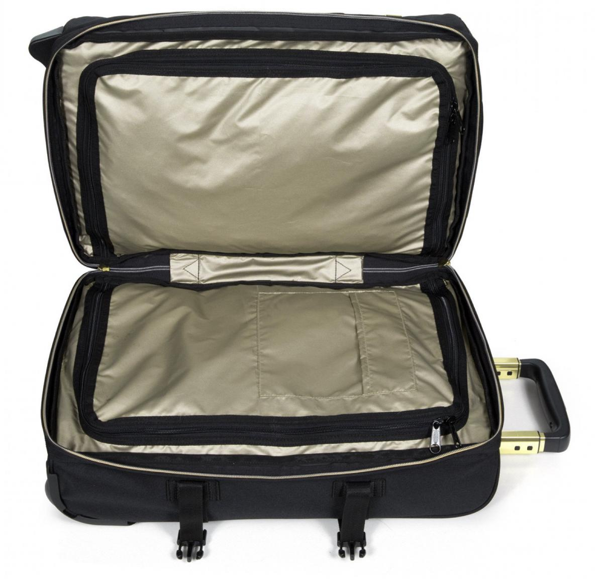 Bordtrolley Eastpak Tranverz S schwarz Gold Handgepäck