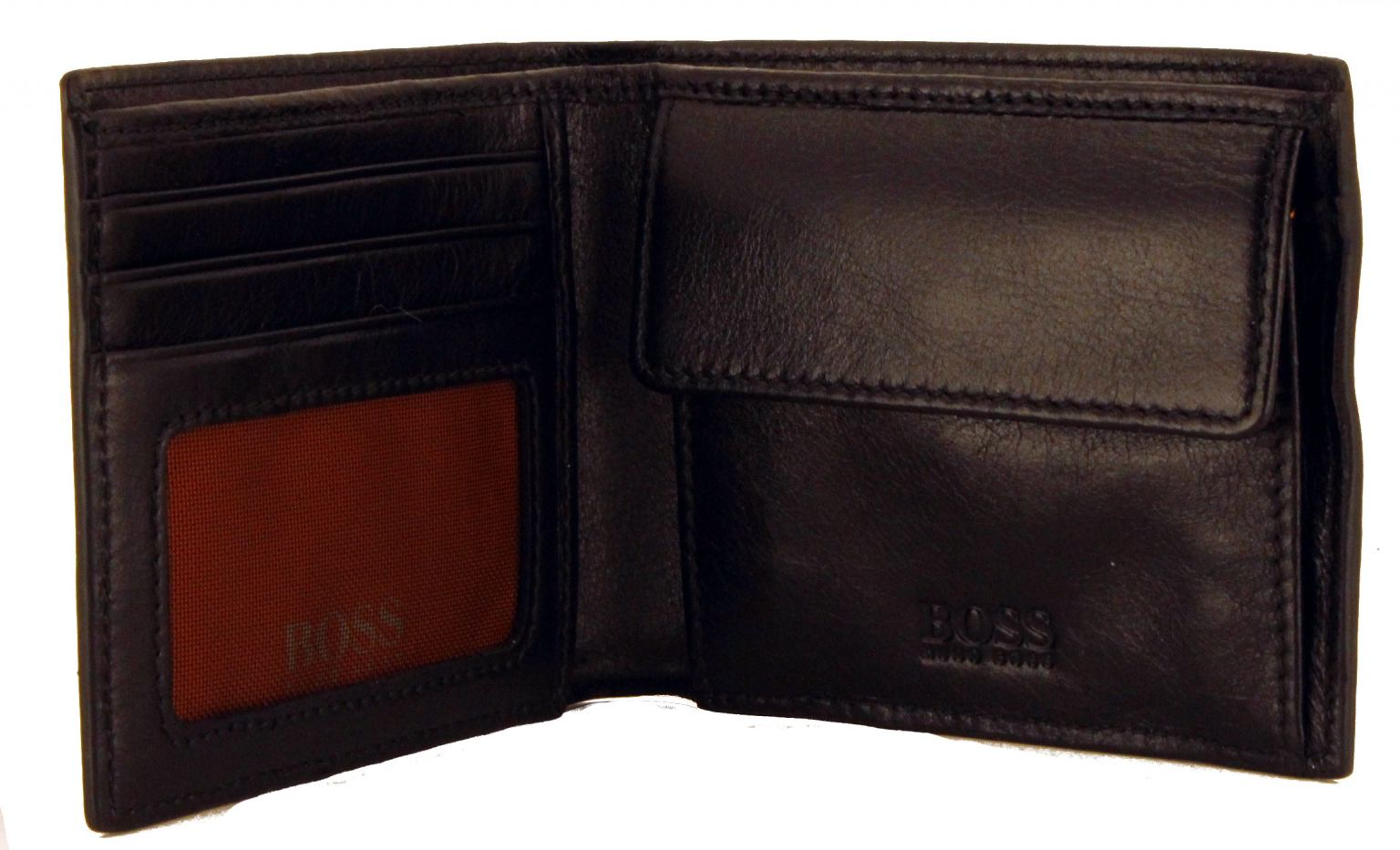 Boss Orange GbO 4 Portmonee Leder schwarz