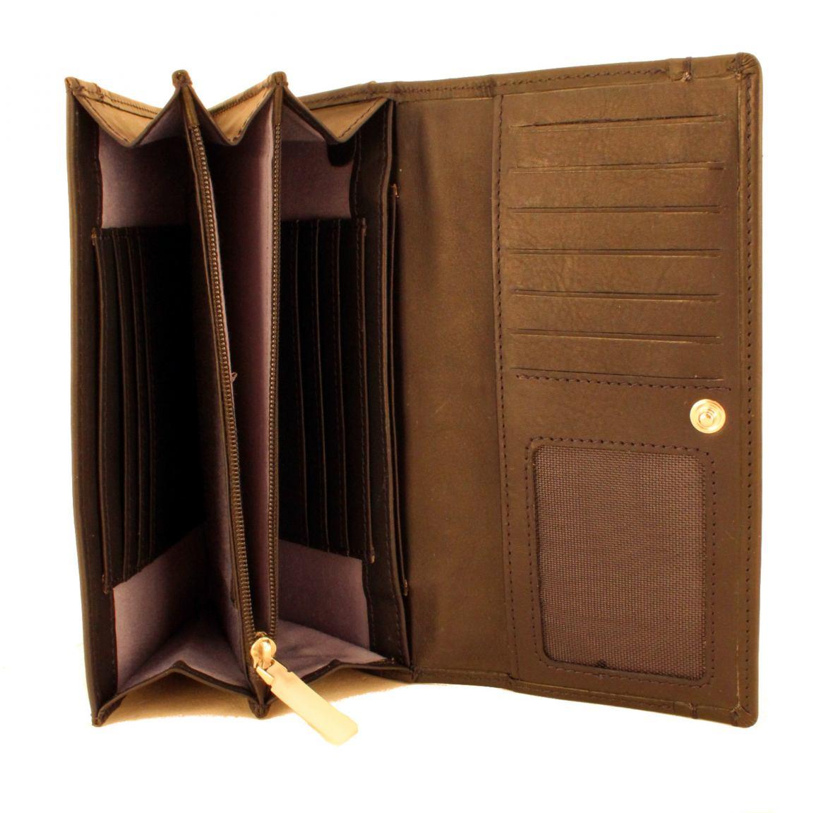 Brieftasche Maitre Birkenfeld Diedburg Cognac dunkelbraun RFID