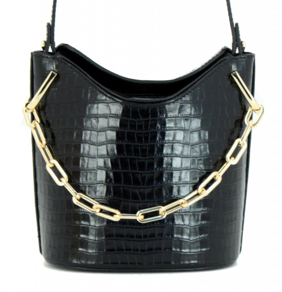 Bucket Bag Gianni Chiarini Sophia Umhängetasche Bianco weiß