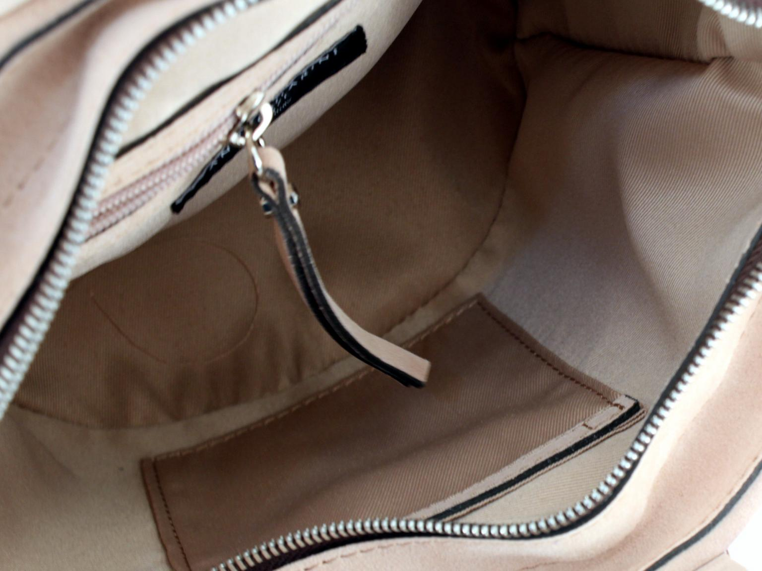 Bucket Tasche Gianni Chiarini Firenze Colorella rosa Resingriffe