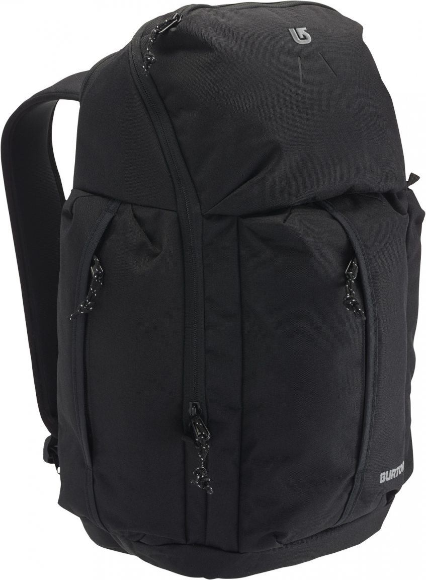 burton cadet pack schulrucksack schwarz bags more. Black Bedroom Furniture Sets. Home Design Ideas