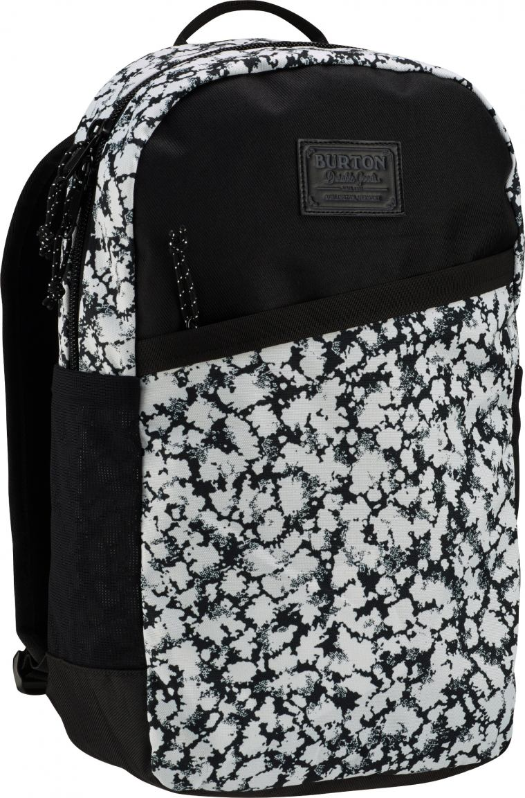 burton rucksack apollo pack schwarz wei mossglen print. Black Bedroom Furniture Sets. Home Design Ideas