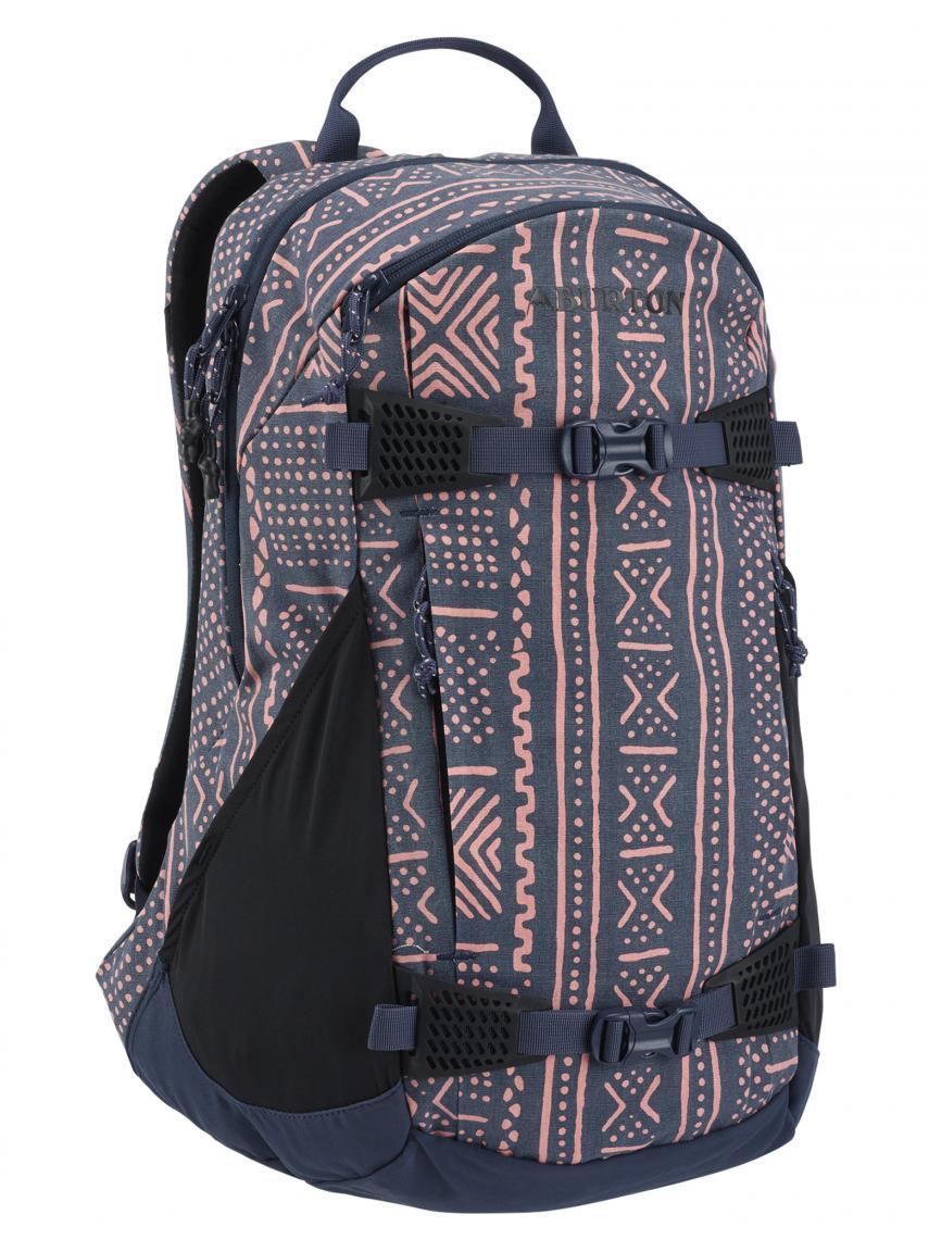 2cc20eea6768c Burton WMS Dayhiker Pack 25L Schulrucksack blau rosa Punkte - Bags ...