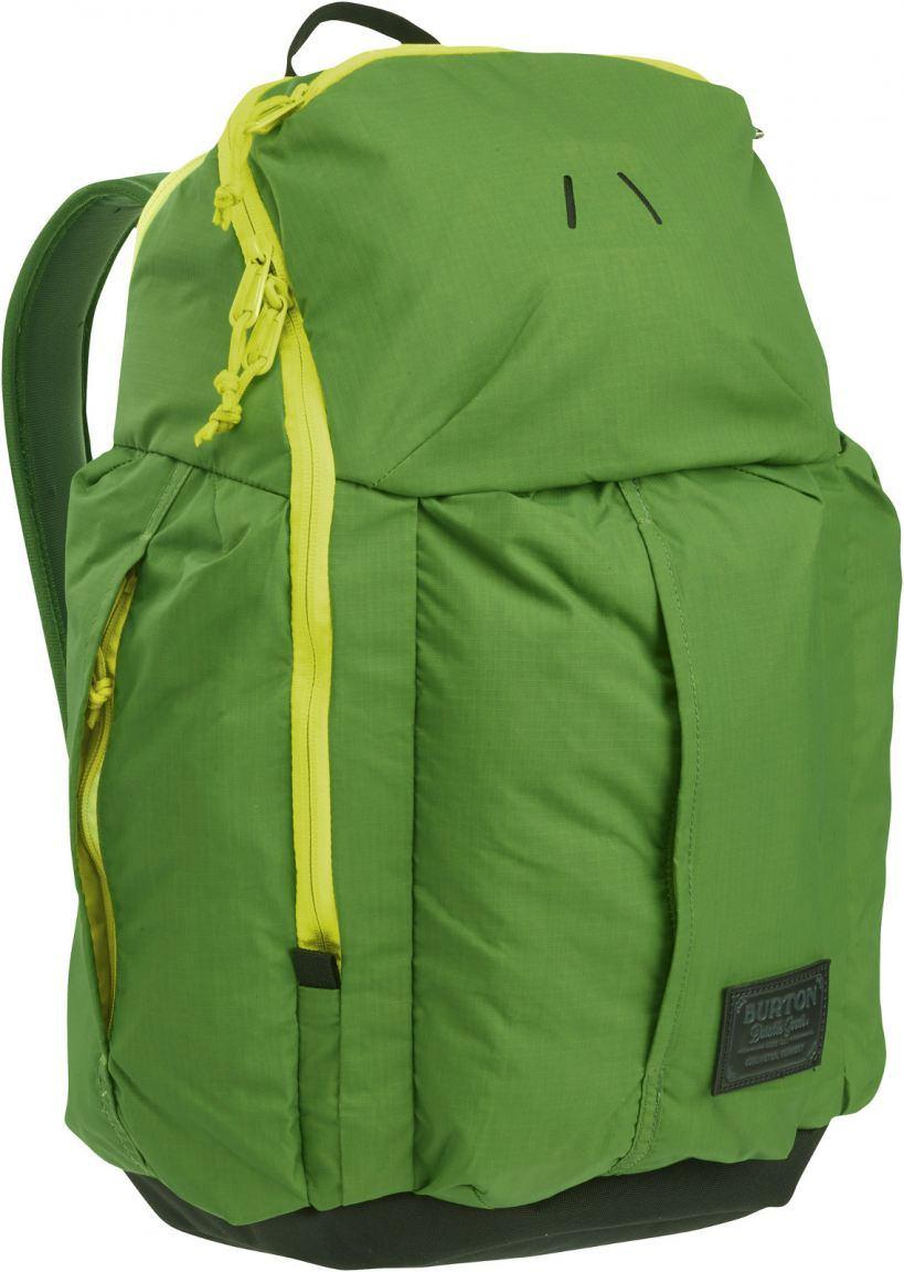 Burton Cadet Laptoprucksack grün/gelb