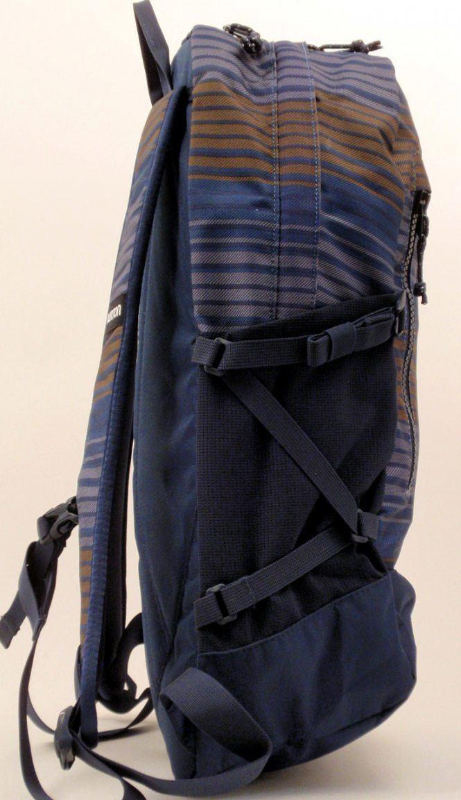 Burton Prospect Pack Schulrucksack red rock orange/braun
