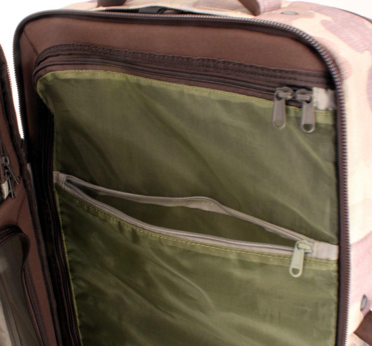 Burton Reisekoffer Wheelie Double Deck XL dunkelbraun gewachst
