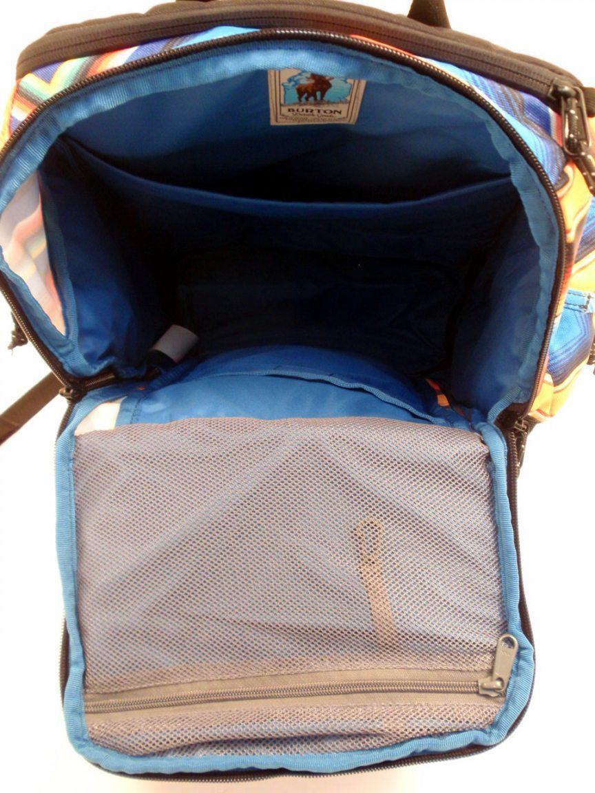 Burton Rucksack mit Laptopfach Cadet Pack rot