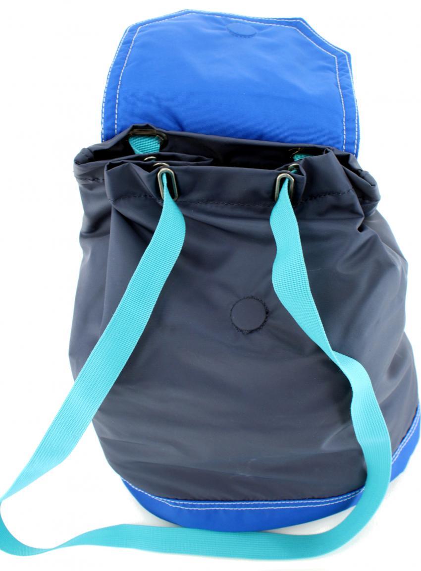 Burton WMS Parcel Pack leichter Rucksack Streifen blau