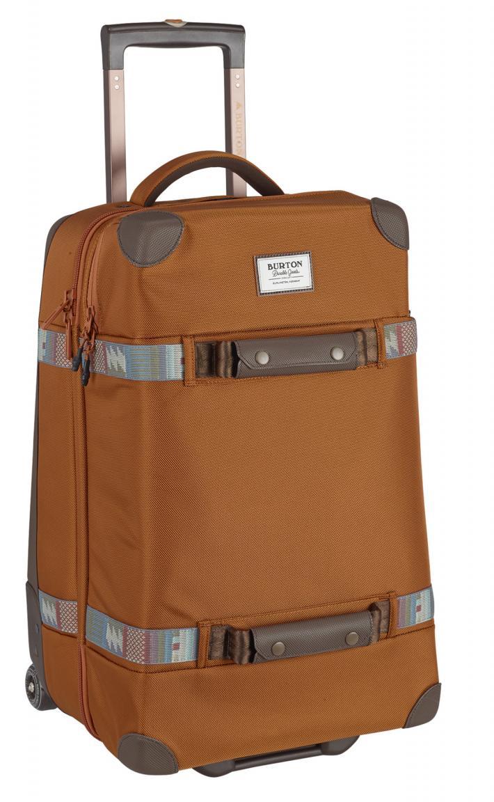 Burton Wheelie Cargo Trolley True Penny Ballistic orange braun
