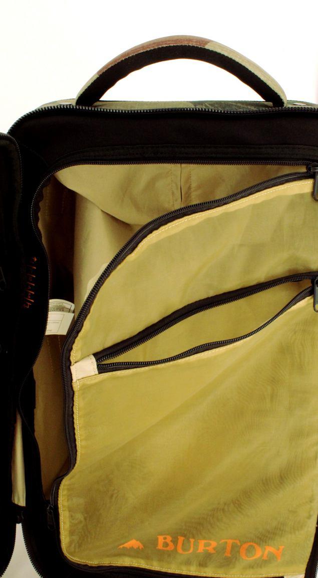 Burton Wheelie FLT Deck Reisekoffer Aura Dye Ballistic Bunt