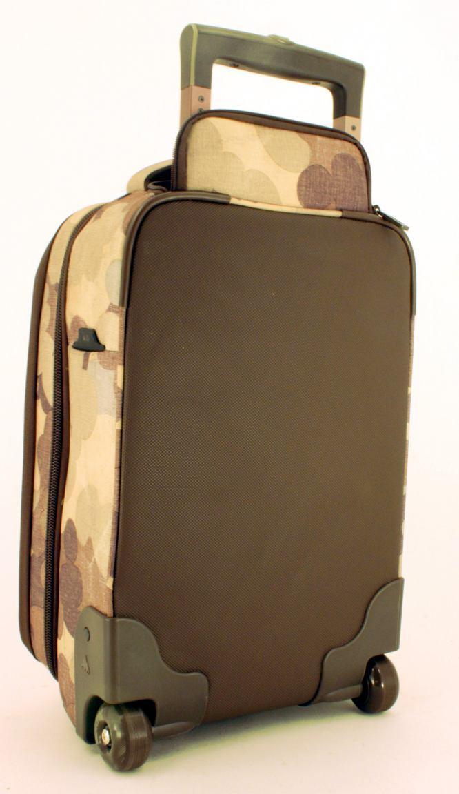 Burton Wheelie Flyer Laptoptrolley Handgepäck Indohobo Print