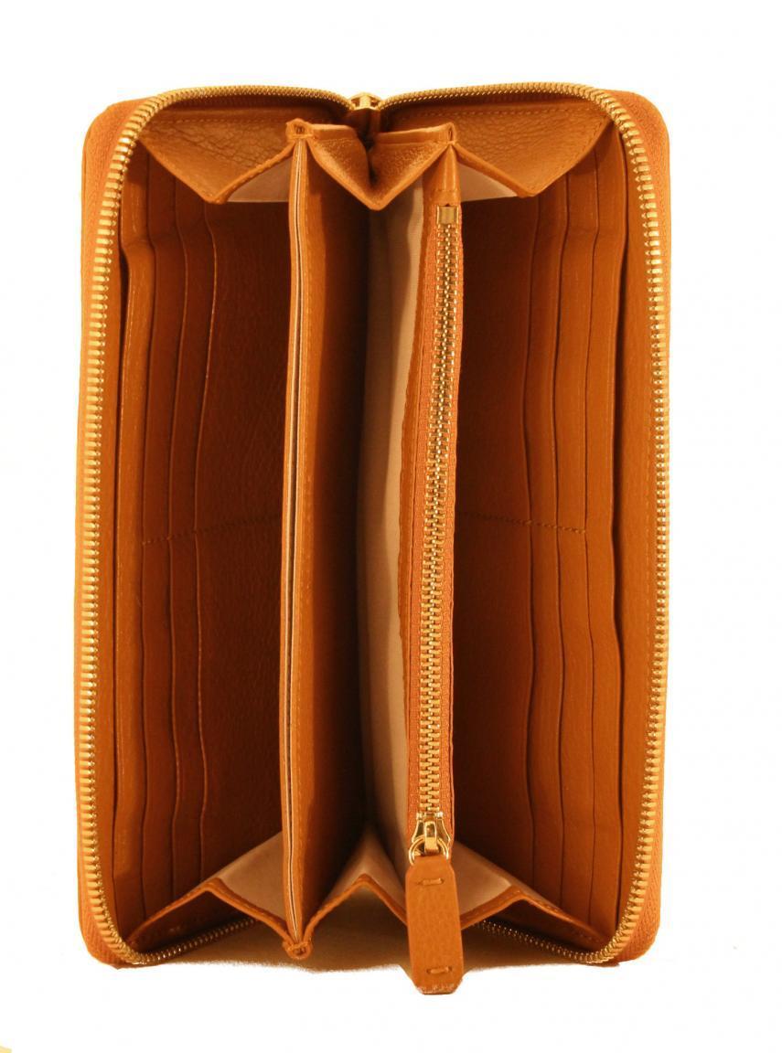 Coccinelle Damenportmonee Metallic Soft Vitello cuir - FLECKEN