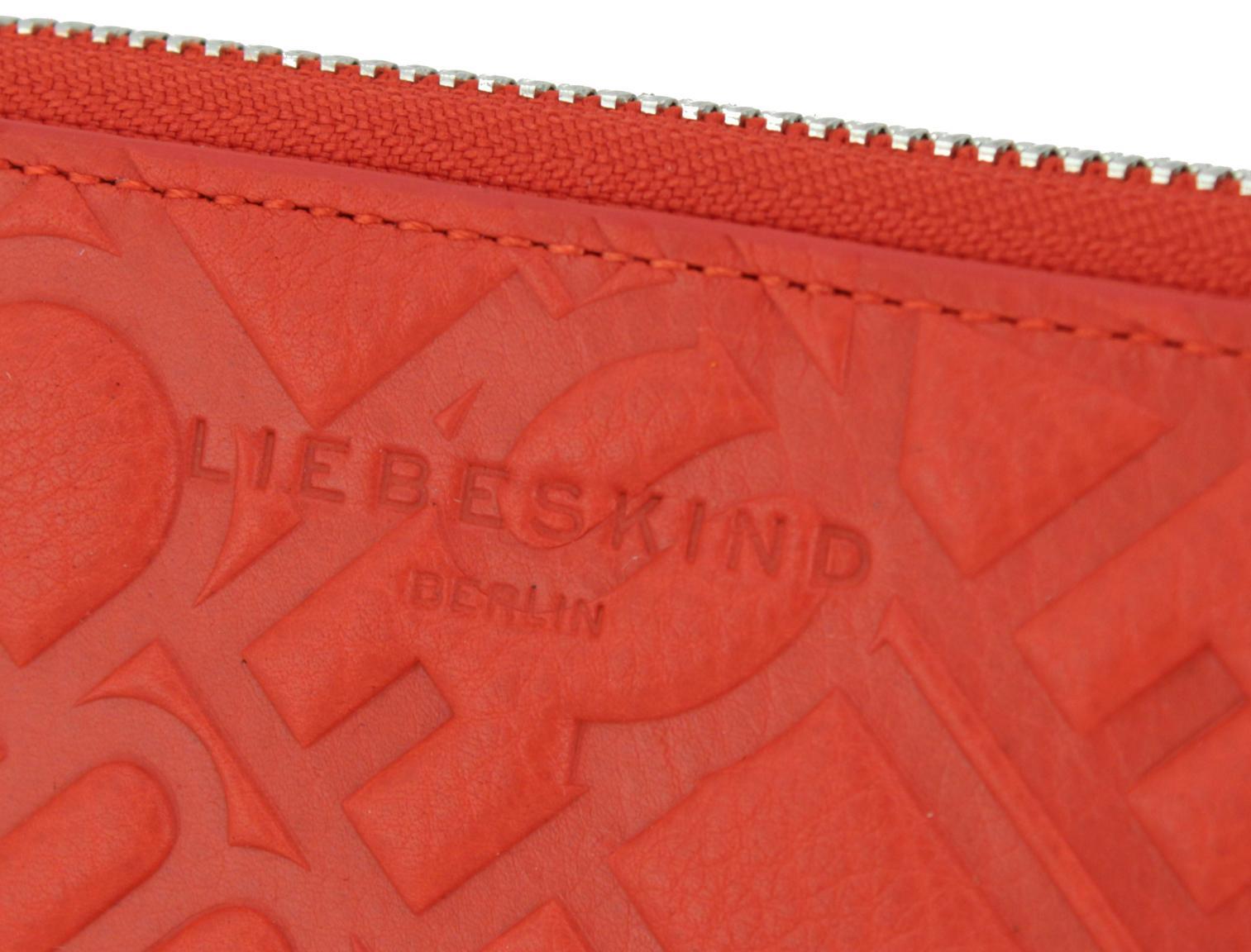ConnyMS8 Vintage Untumbled Geldbeutel Liebeskind Red