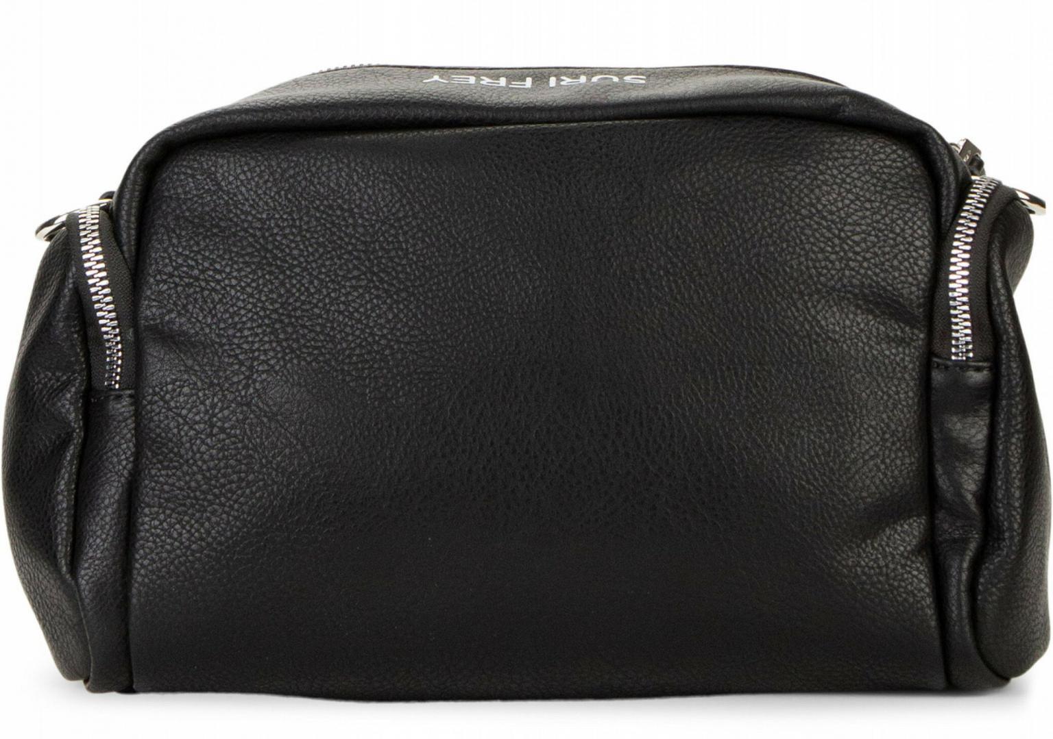 Crossover Tasche schwarz Terry Synthetik genarbt Suri Frey