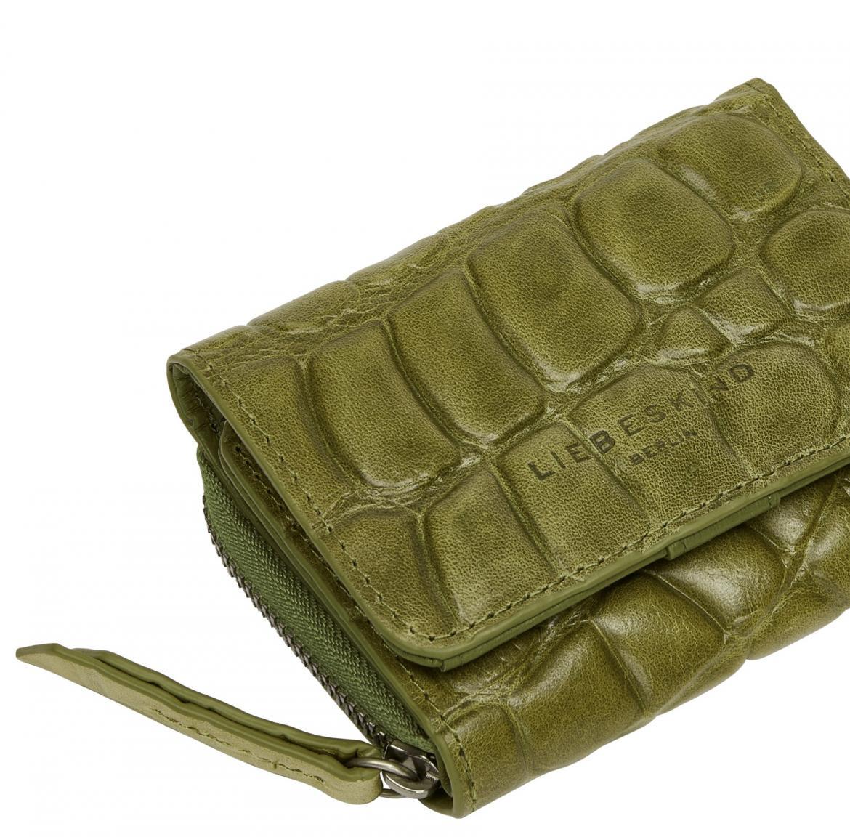 Damen Geldbeutel Liebeskind Berlin Conny C20 moss Waxy Croco RFID