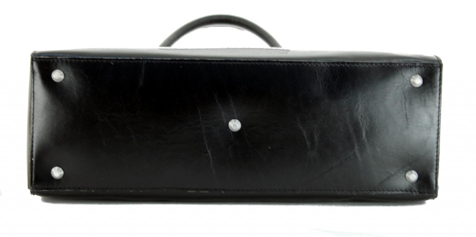 Damenaktentasche Claudio Ferrici Laptop gepolstert schwarz