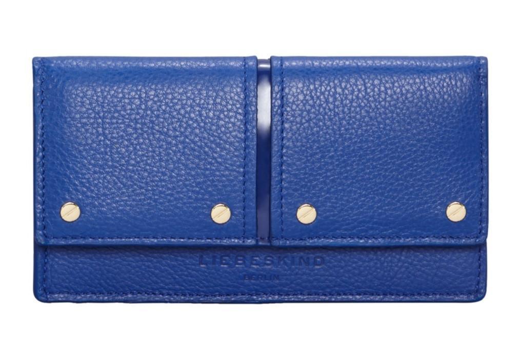 Damenbrieftasche Liebeskind MNPSlamH8 Pebble Patent blau