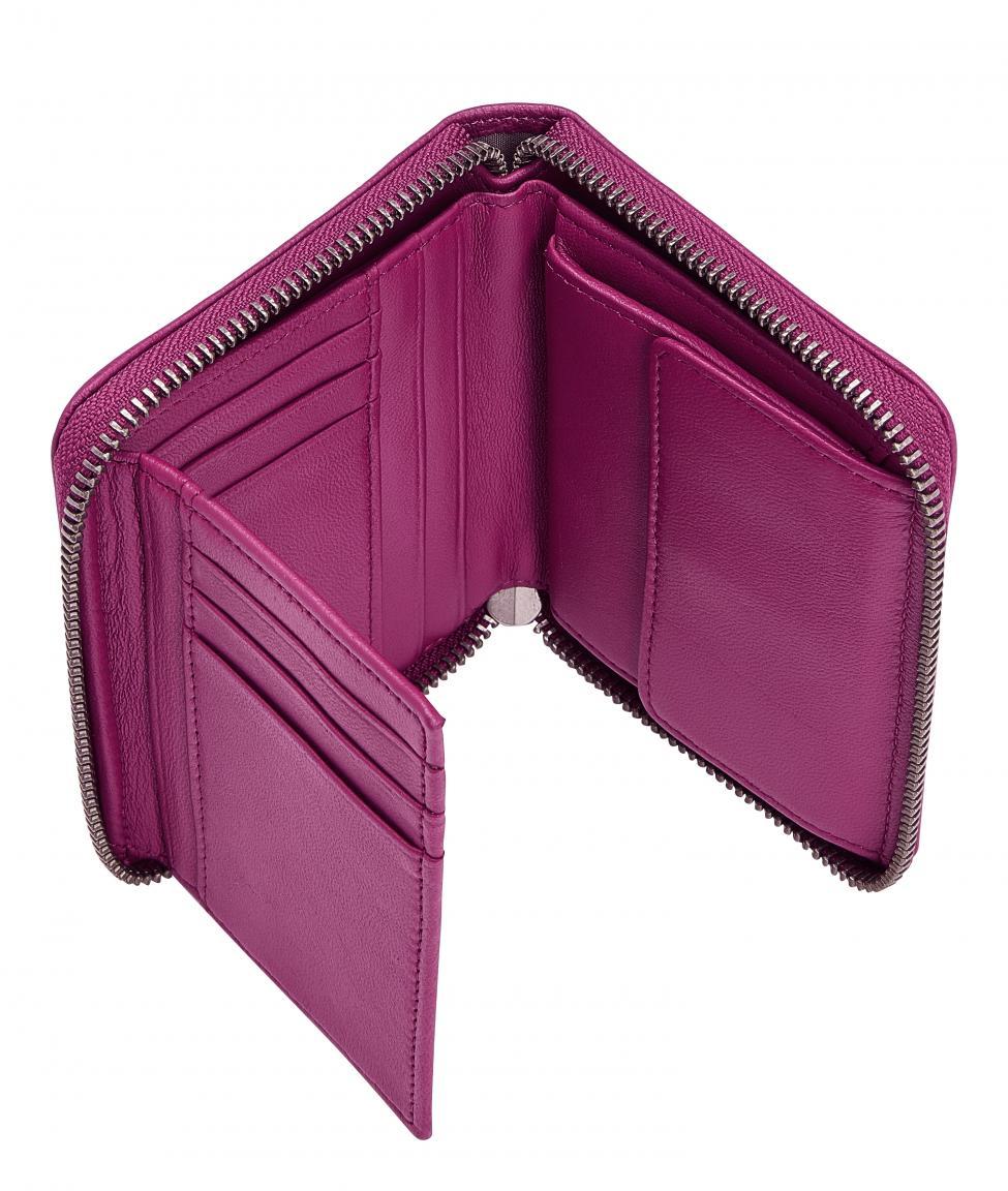Damengeldtasche Liebeskind Conny pink Roseberry RFID Leder