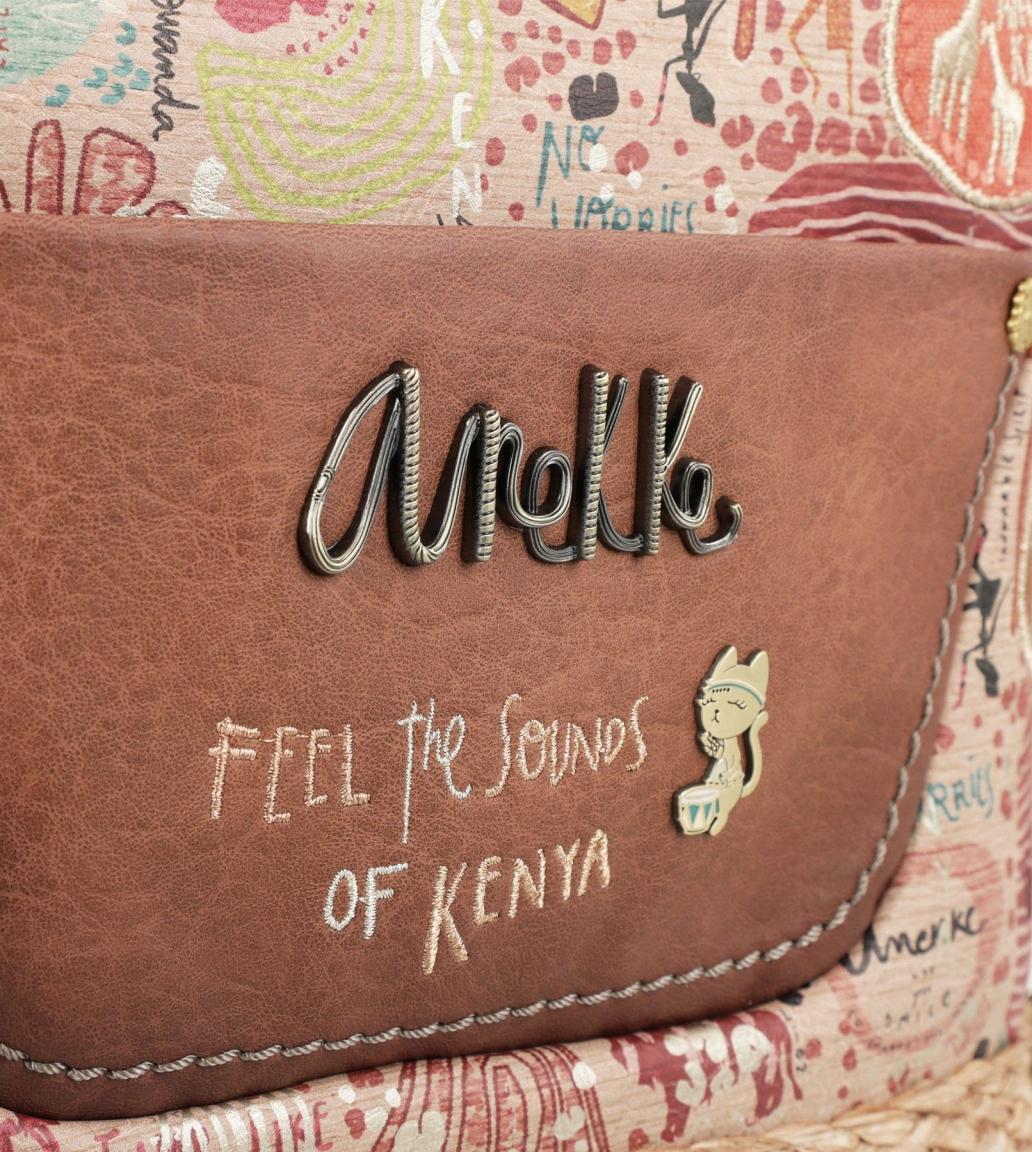 Damenschultertasche Anekke Kenya abnehmbarer Anhänger