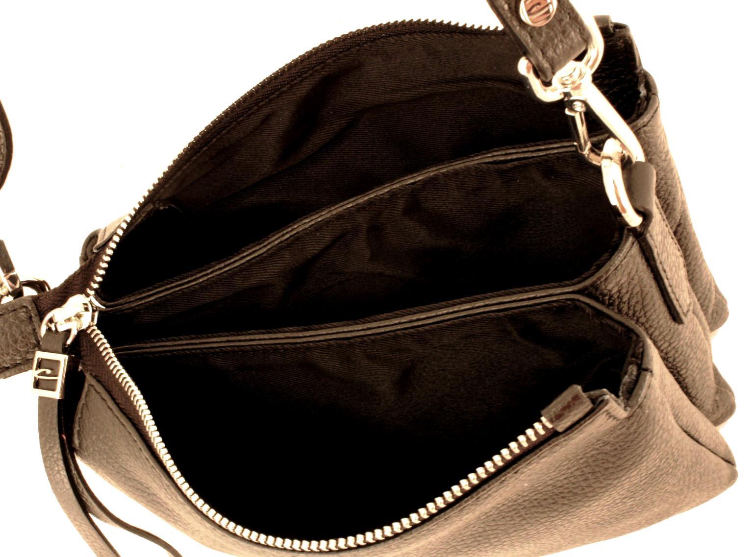 Damentasche Gianni Chiarini Three Marble wollweiß dreigeteilt