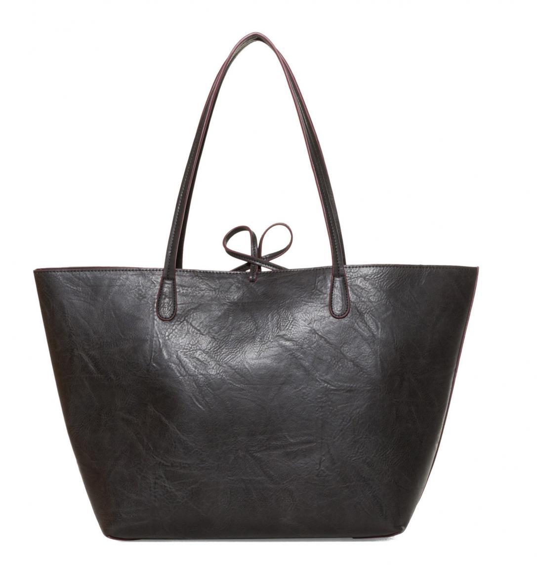 Desigual Capri bestickte Shoppertasche schwarz bunt Mandala