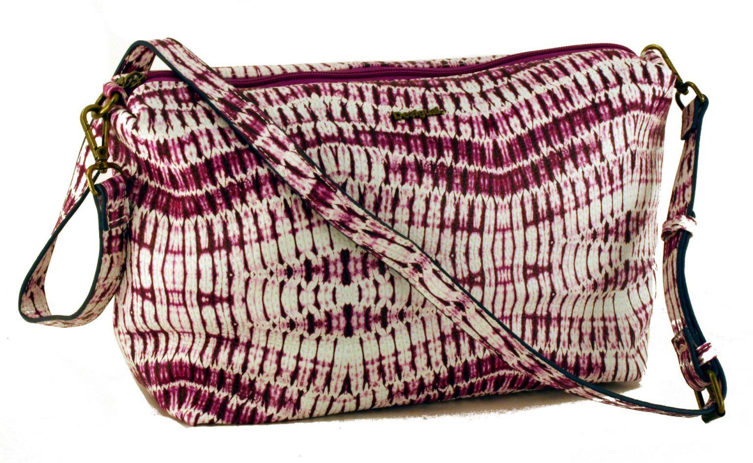 Desigual Wendetasche Capri Snake Patch schwarz braun