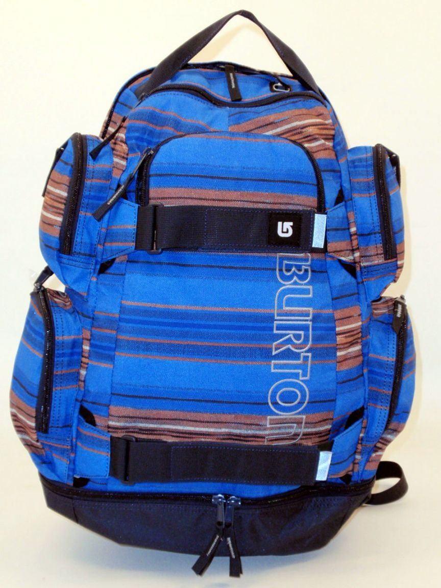 Dress Blue Heather Burton Wanderrucksack blau,grün viele Fächer