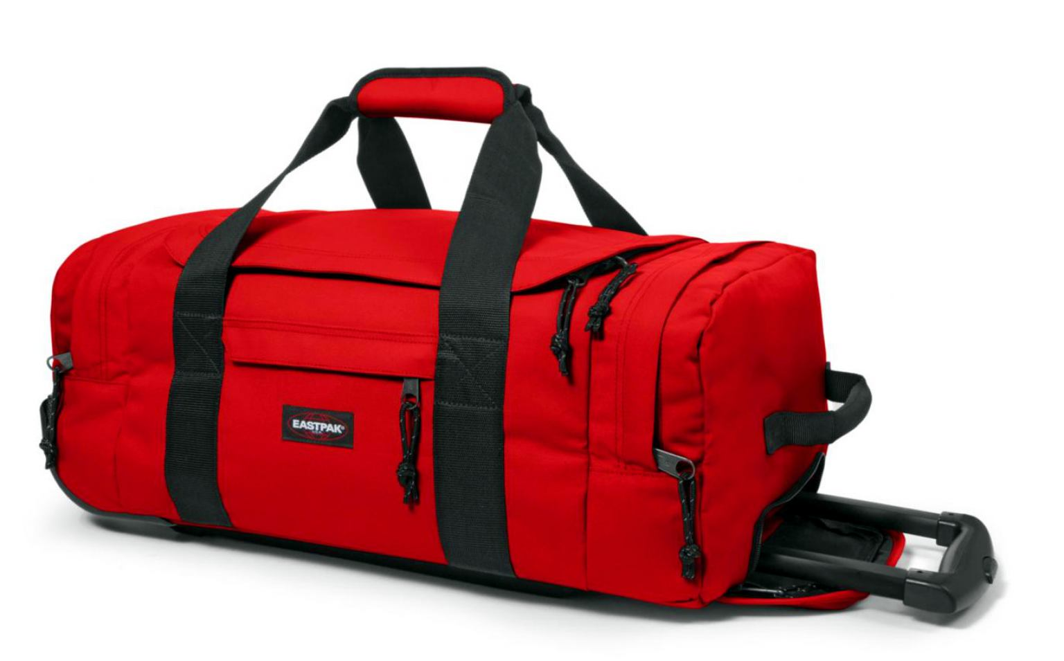 eastpak leatherface s reisetasche mit rollen apple pick red bags more. Black Bedroom Furniture Sets. Home Design Ideas