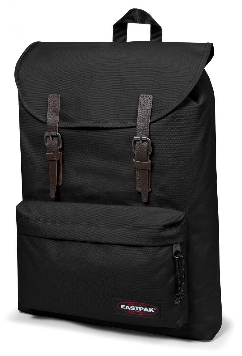 eastpak london rucksack laptopfach schwarz bags more. Black Bedroom Furniture Sets. Home Design Ideas