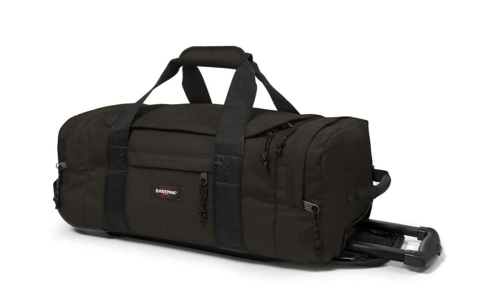 Eastpak Leatherface S Reisetrolley Bush Khaki dunkelgrün
