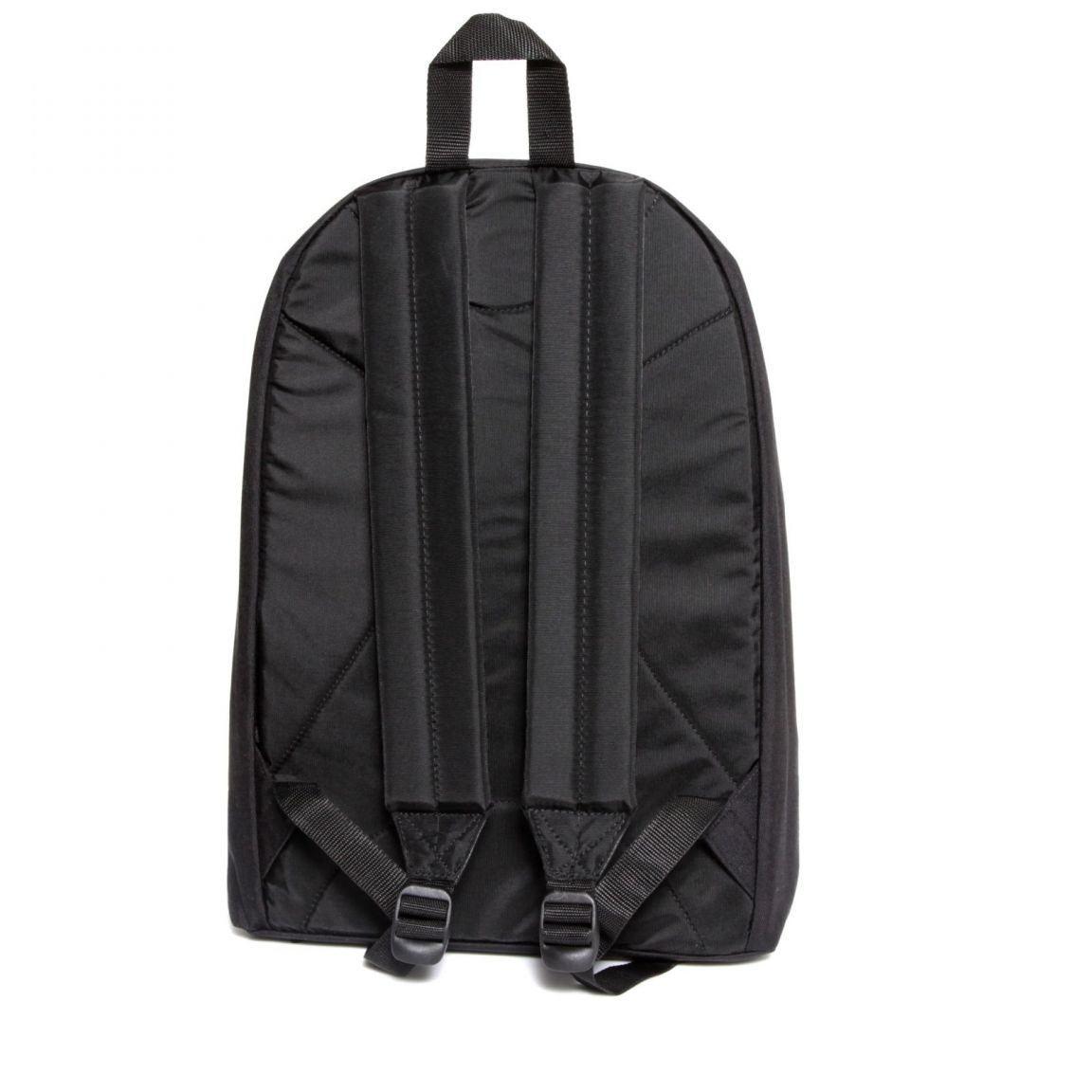 Eastpak Out of Office Laptoprucksack mit Leder schwarz