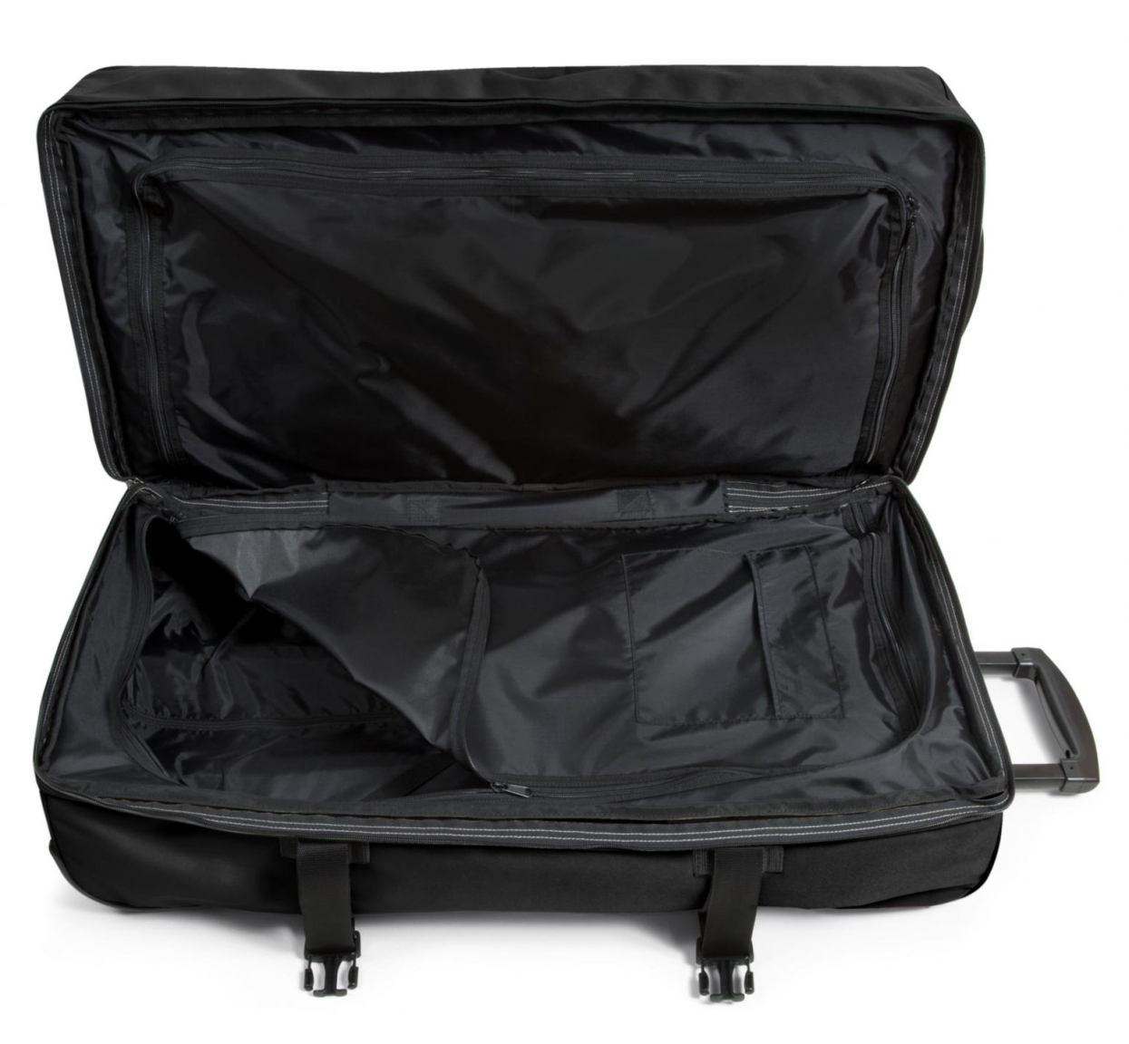 Eastpak Tranverz M Rolletasche beidsietig zu packen schwarz