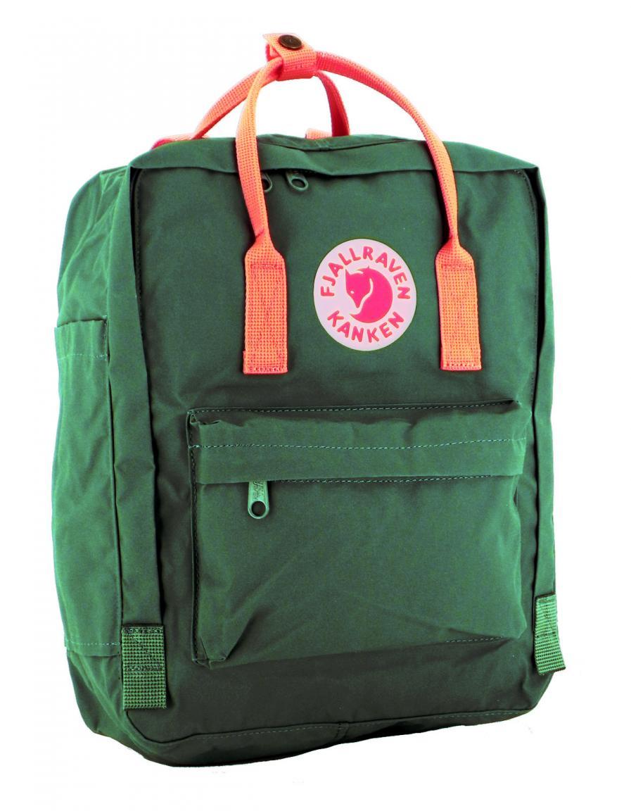 Fjällraven Kanken Rucksack Frost Green-Peach Pink