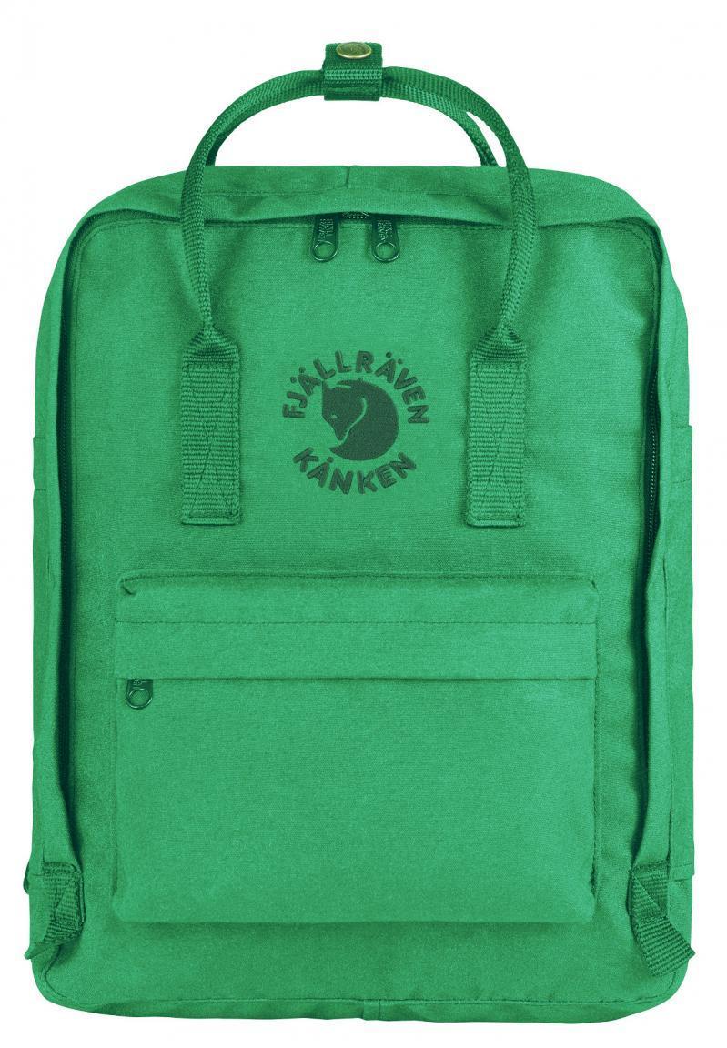 Fjällraven Re-Känken Rucksack aus recycelten Petflachen Emerald