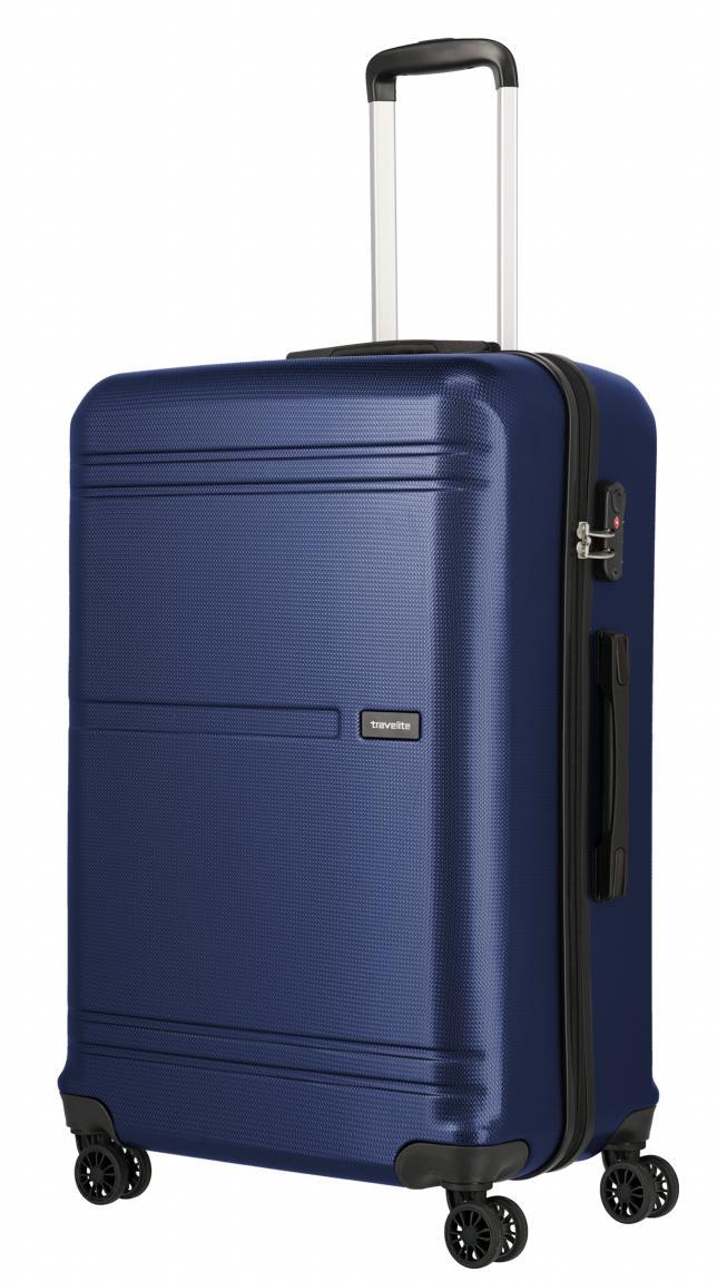 Flugkoffer 76cm TSA-Schloss Travelite Yamba dunkelblau Travelite