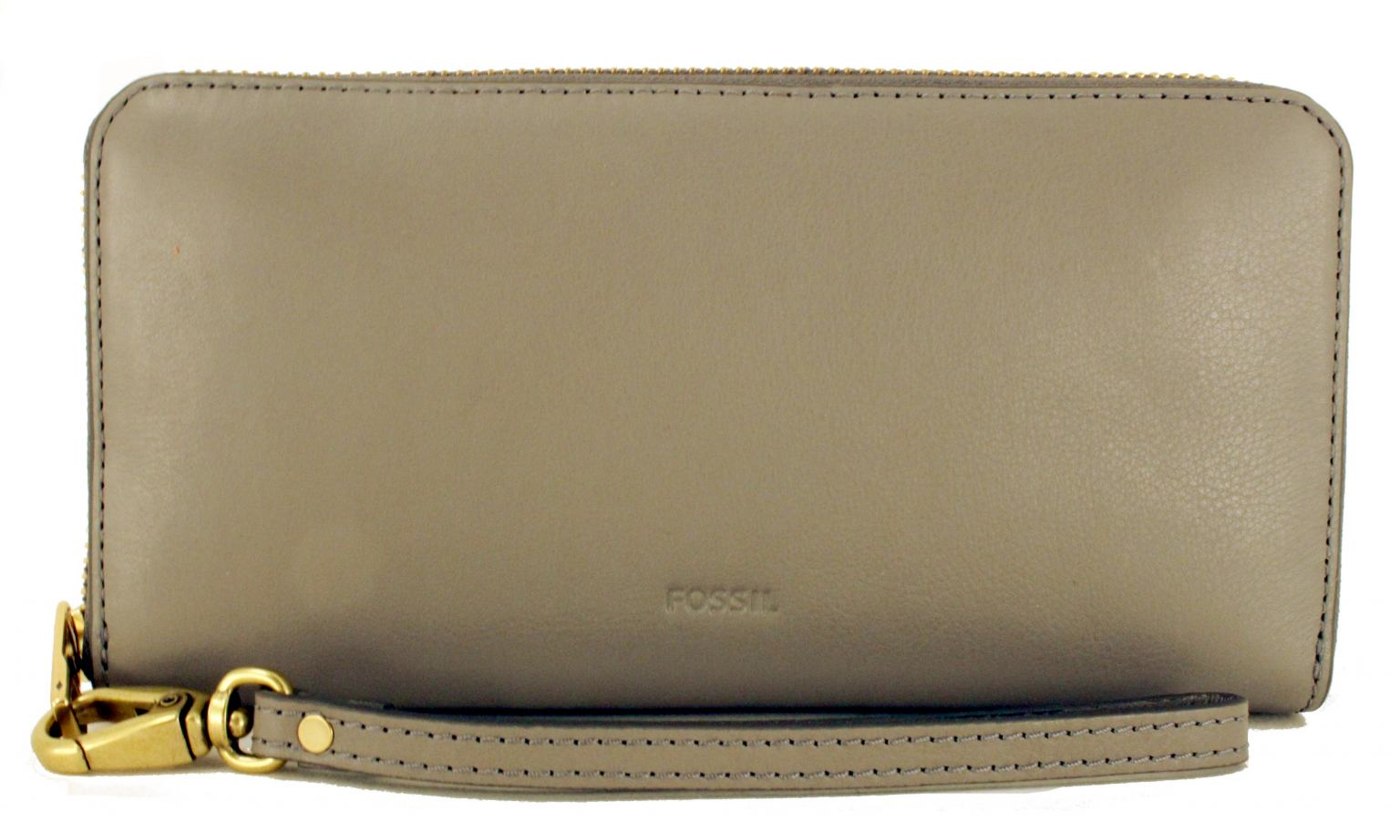 ac2f48a359583 Fossil Emma Large RFID Protection Portemonnaie Grau - Bags   more