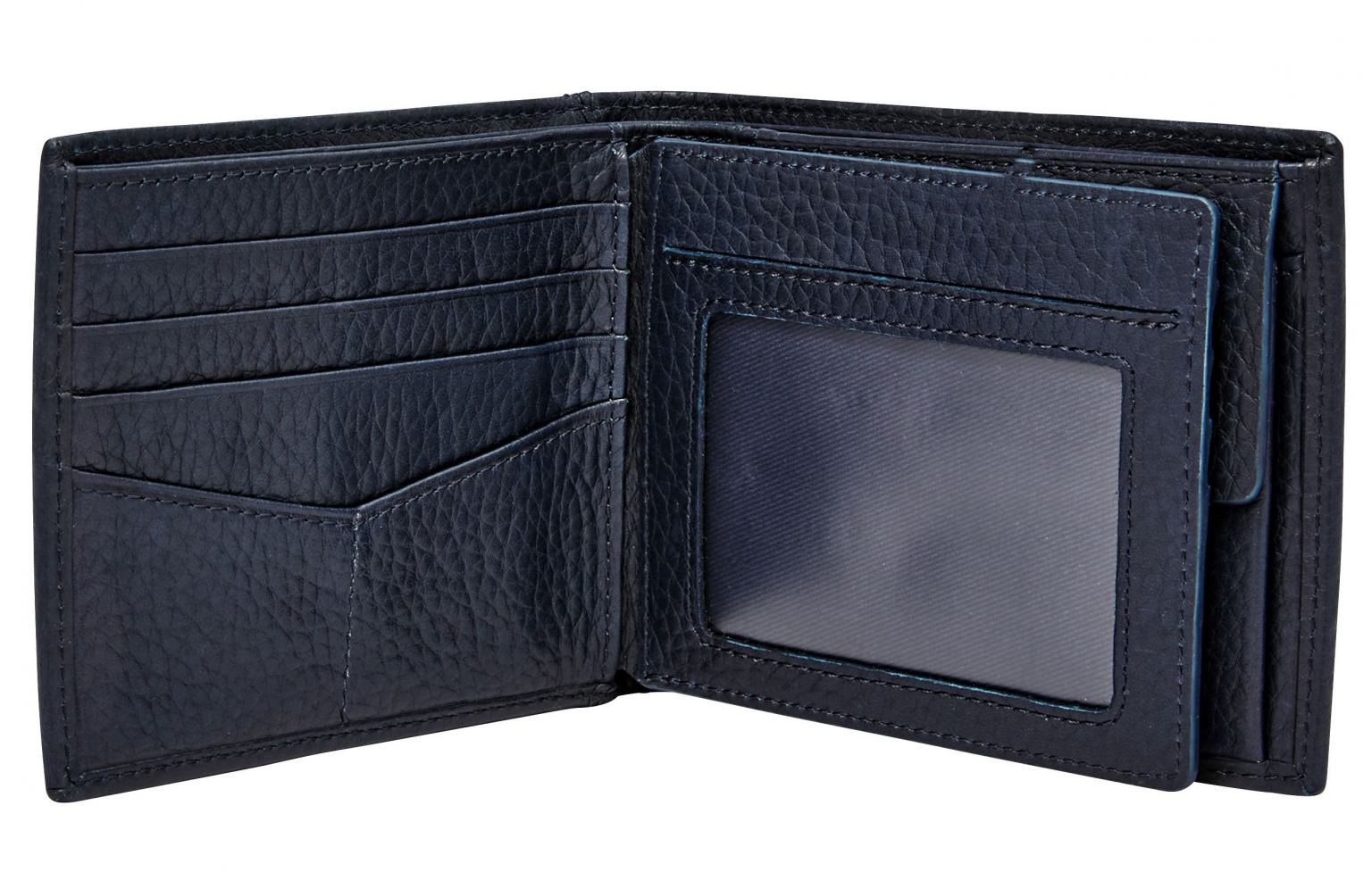 Fossil Mayfair Large RFID Protection Geldbörse Navy Blau
