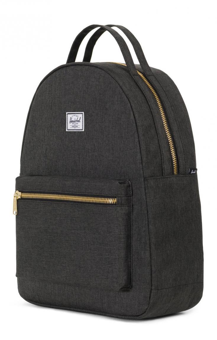 Freizeitrucksack Herschel Nova Backpack schwarz meliert Laptop