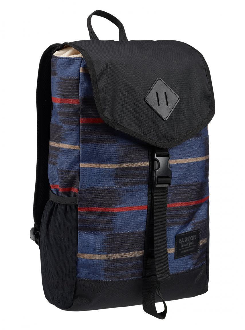 Freizeitrucksack Westfall Pack Burton blau Streifen schwarz rot