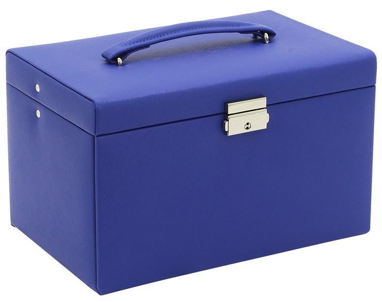 Friedrich23 Schmuckkoffer königsblau Jolie 2.0 Schubladen