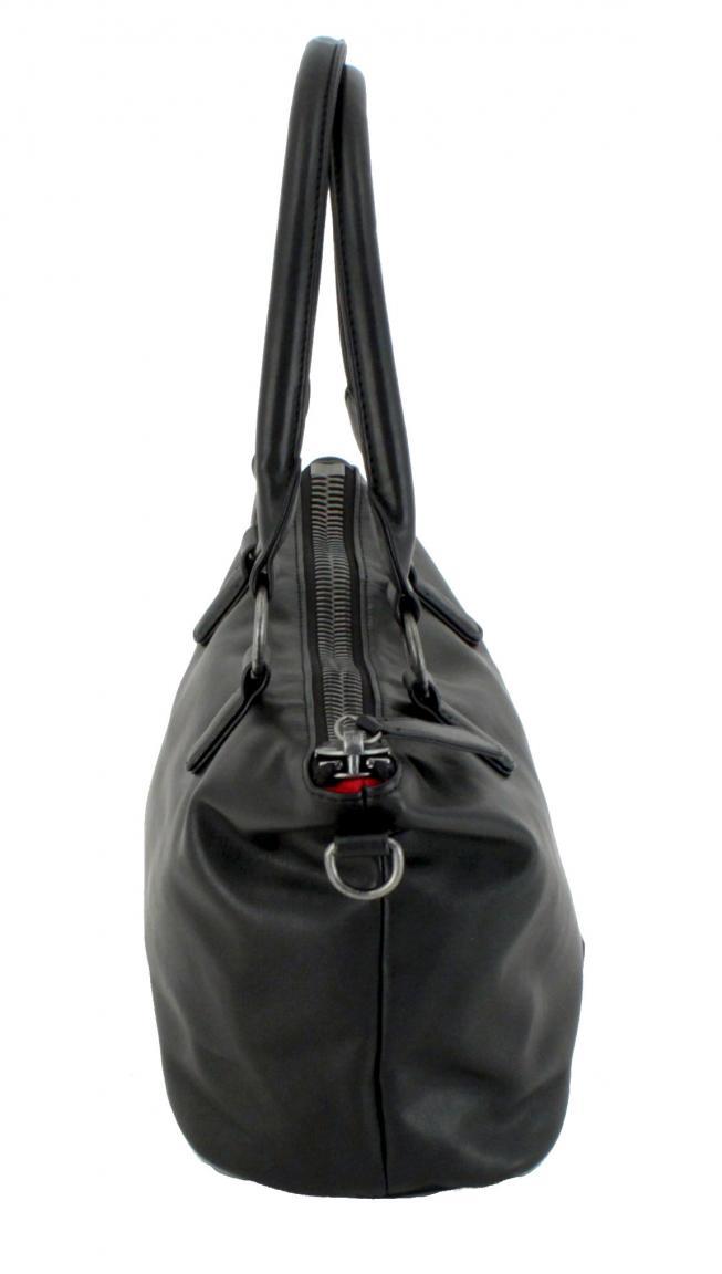 Fritzi Preußen Handtasche Marisa Nappa schwarz big zip