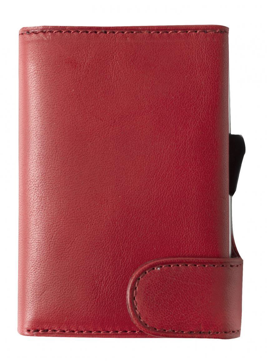 Furbo Tony Perotti Geldbörse Kreditkarten rot RFID-Schutz Rouge