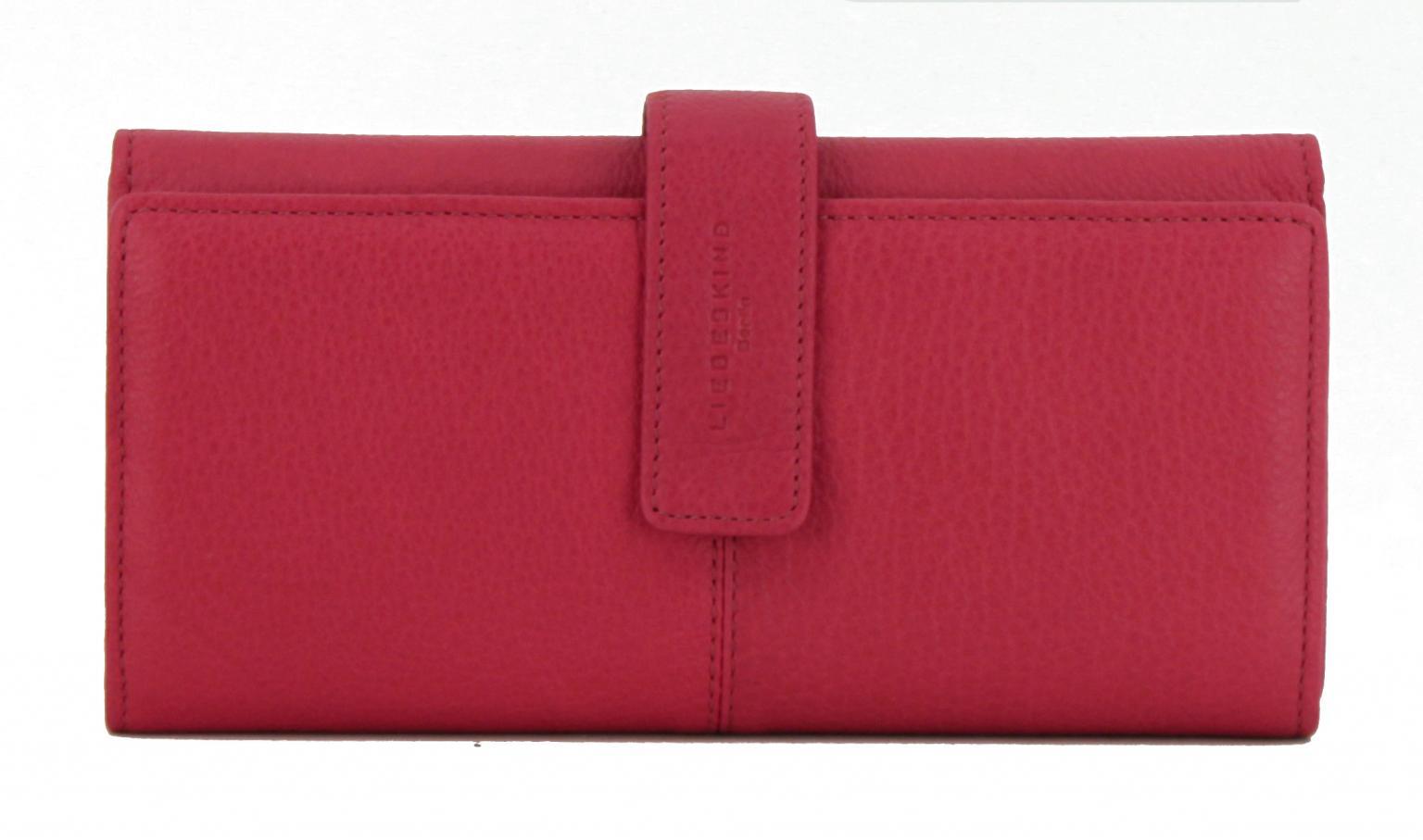b9e2a1aba6e78 Geldbörse Liebeskind Berlin LeonieR Leder Vintage Pink Rot - Bags   more