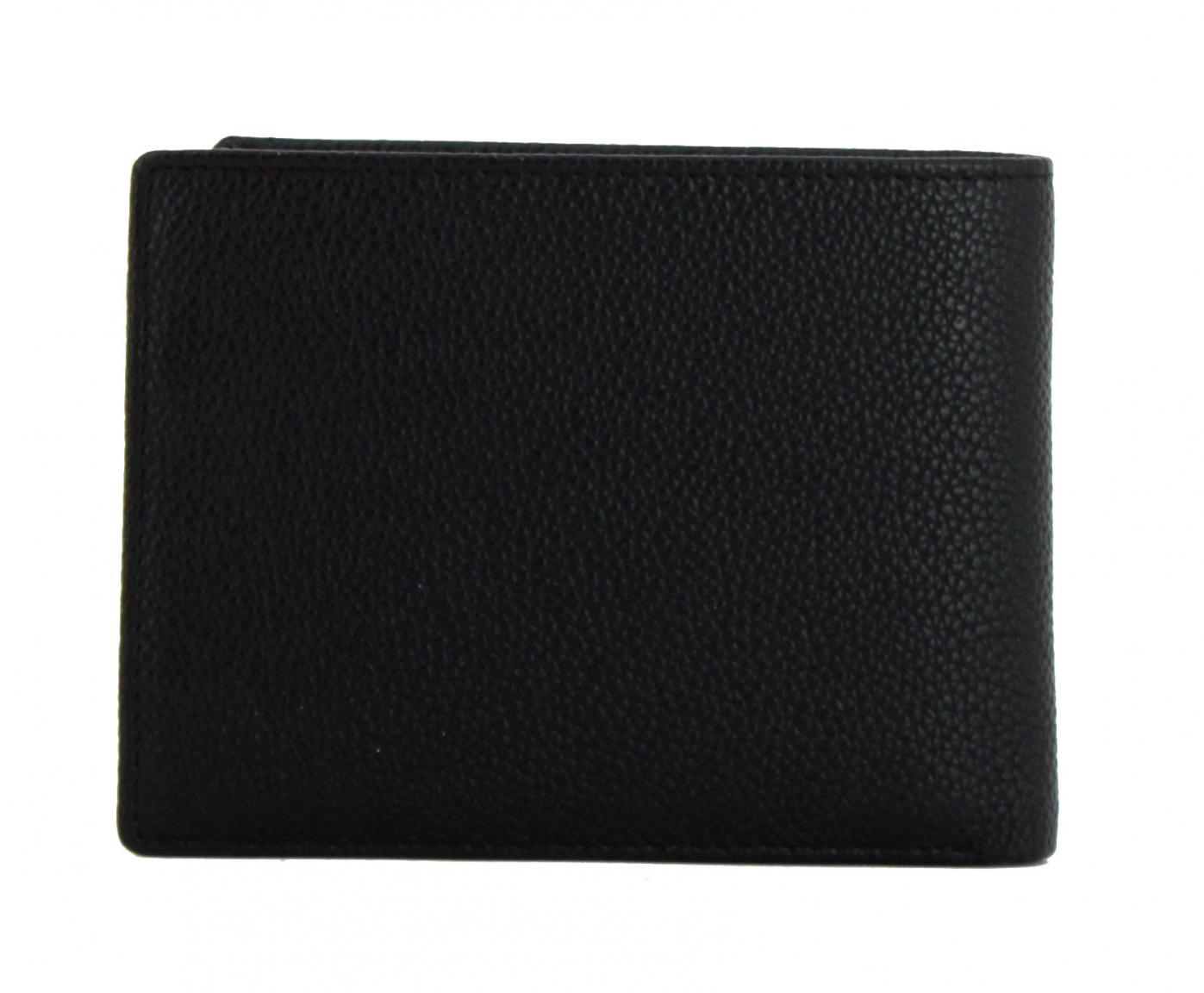 Geldbeutel L.Credi Munich Alfredo RFID-Schutz schwarz
