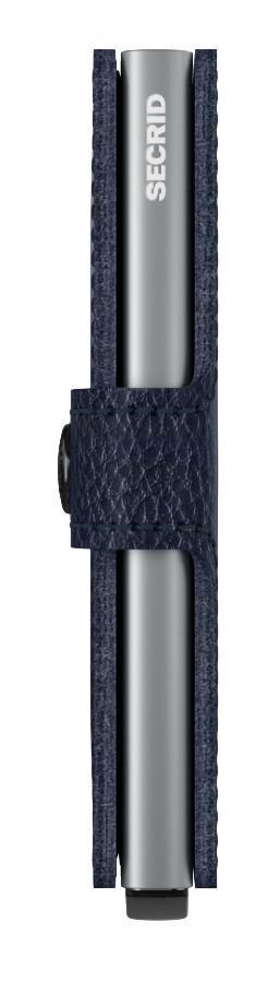 Geldbörse dunkelblau Secrid Miniwallet Stitch Linea Navy bestick