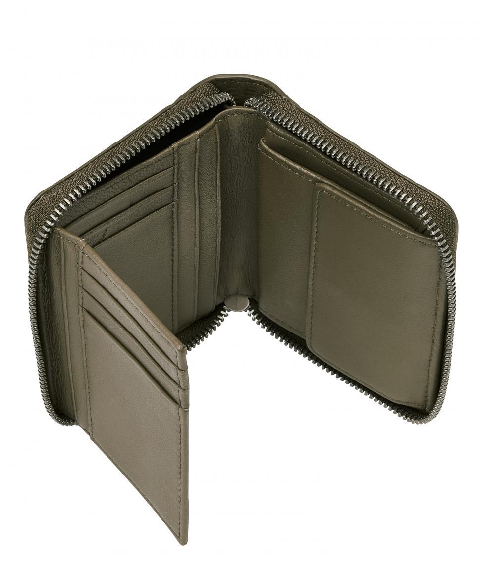 Geldbörse schlammgrün Liebeskind Waxy Croco ConnyC20 RFID