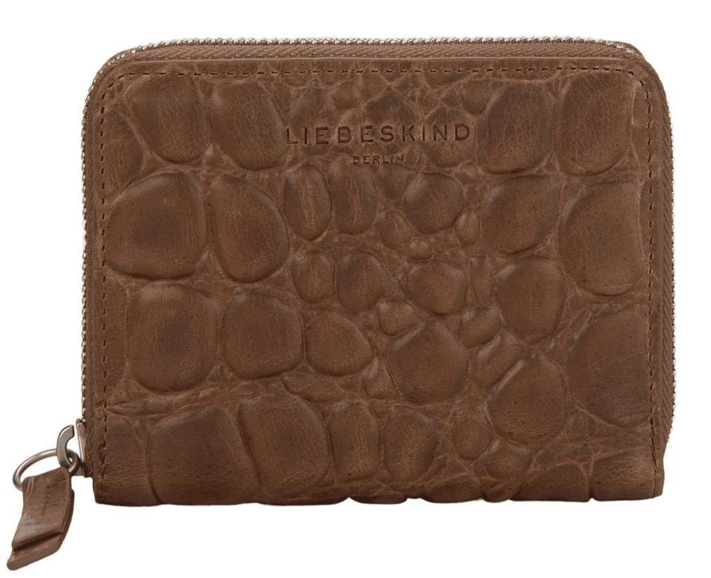 Geldtasche Damen Liebeskind RFID Ally Conny PS9 taupe Croco Waxy